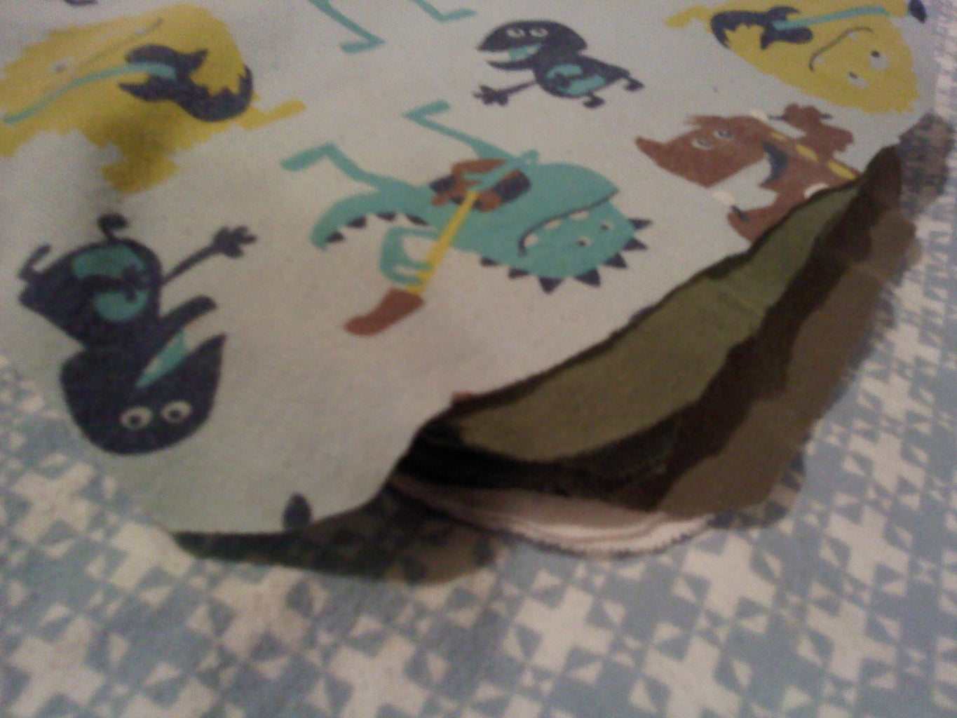 Reusable Baby Wipes From Recycled T-shirts