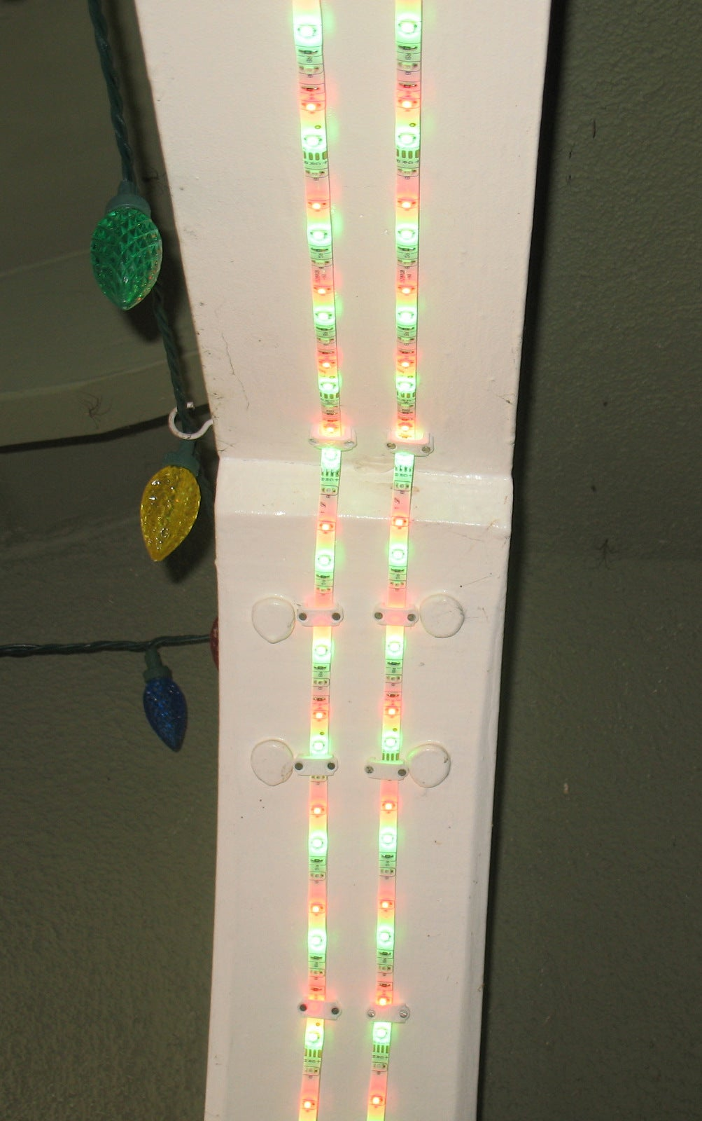 Arduino Controlled LED Strip Holiday Lighting