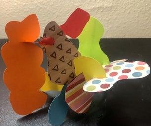 Stabile Paper Sculpture