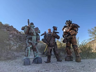 Fallout X-01 Power-armor Cosplay Build