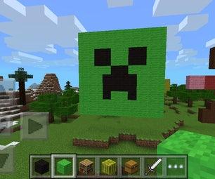 Creeper Face Minecraft Pixel Art