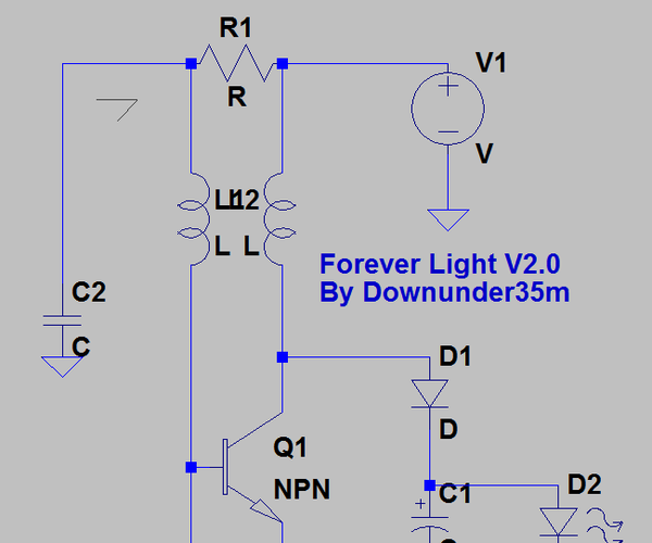 The Forever Light - a Better Joule Thief to Recycle Your Old Batteries