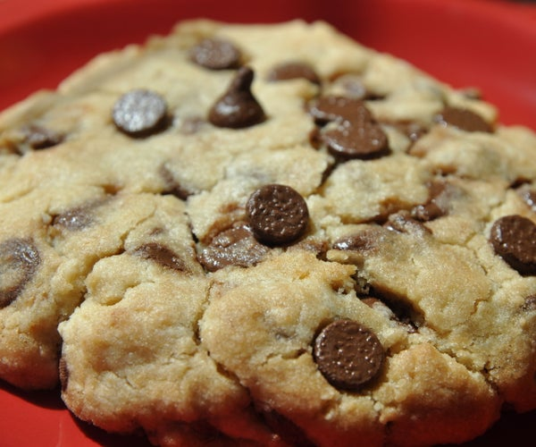 Chocolate Chip Cookie for One
