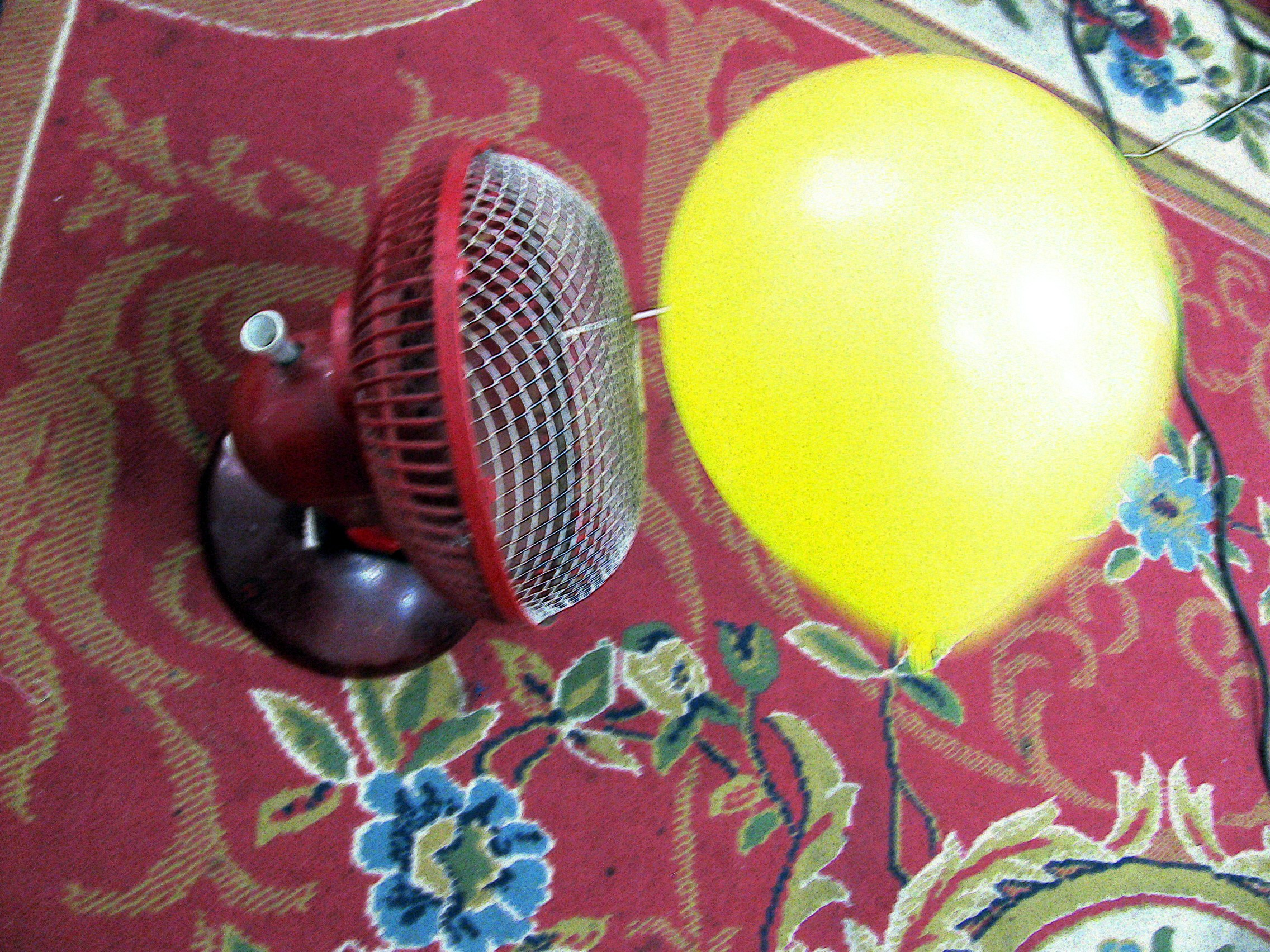 Controlled Direction of Fan Captured Balloon