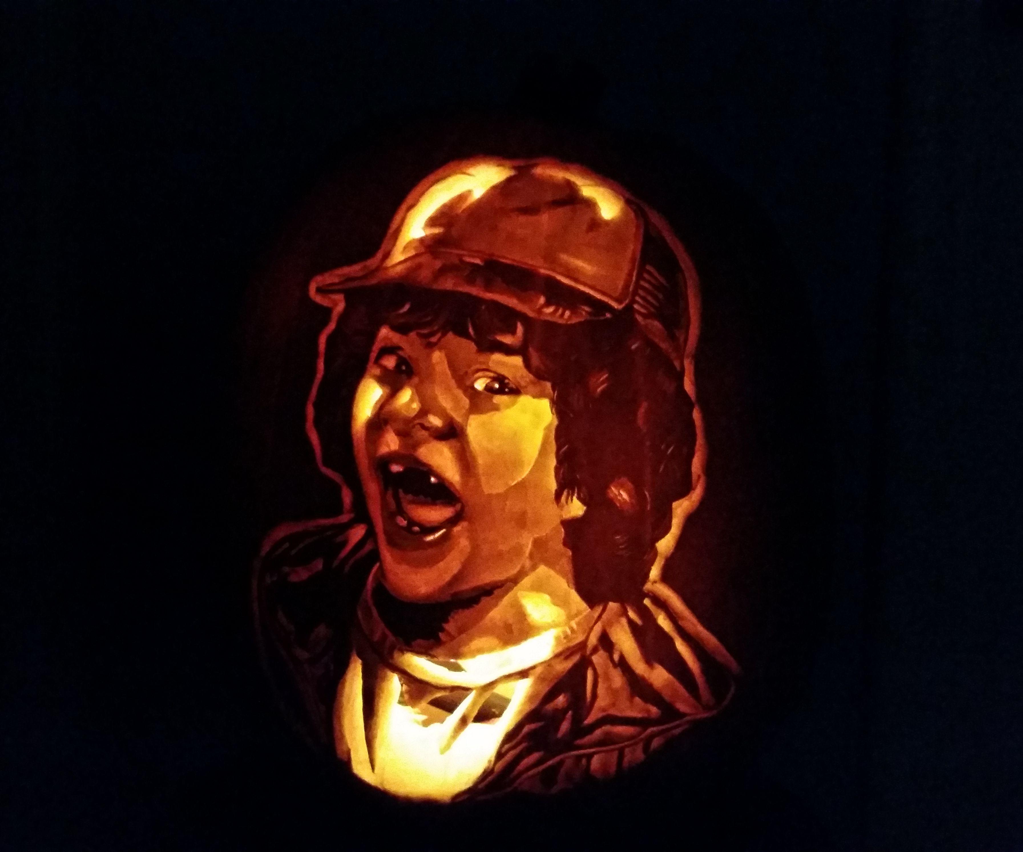How to Carve a Photo Onto a Pumpkin