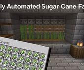 How to Make an Automatic Sugarcane in Minecraft