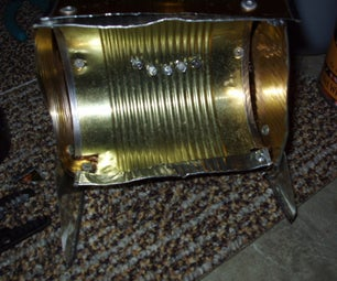 How to Make a Tin Can Battery Powered Led Worklight