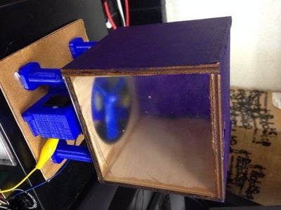 3D Printed and Laser Cut Model of Gas Laws