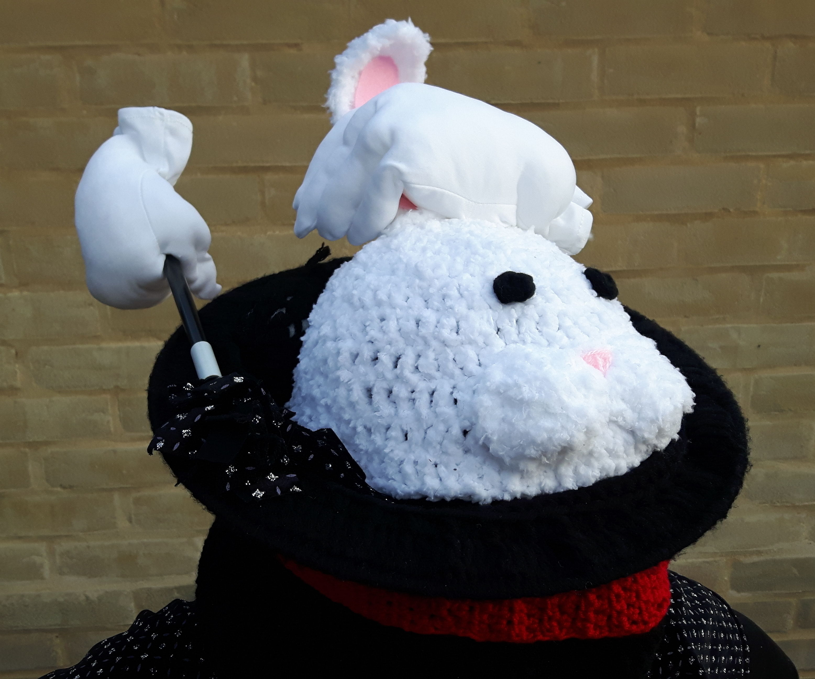 Magic Bunny Crochet Costume