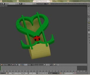 Making a Heart ($) Shaped Money Clip in Blender