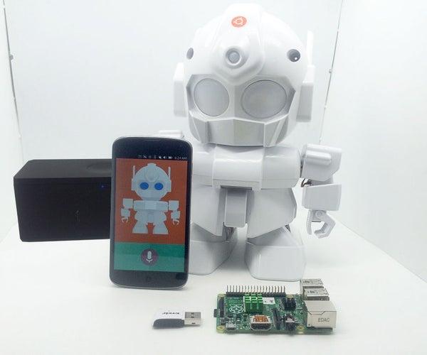MrRobot - Ubuntu Mobile App Enabled Robotics( Raspberry Pi and Arduino Involved)