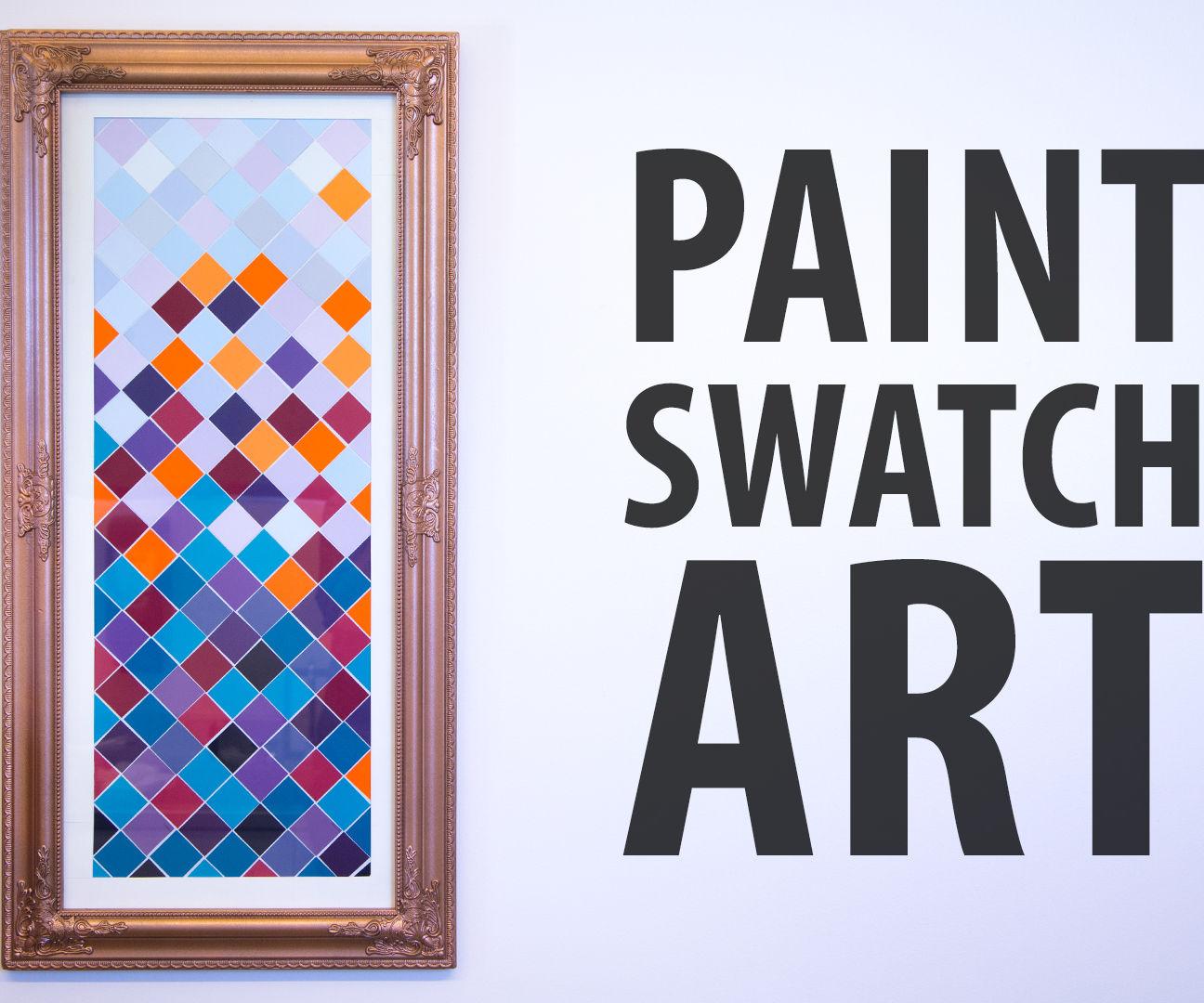 Paint swatch art