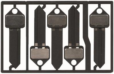DIY- How to make a plastic spare key