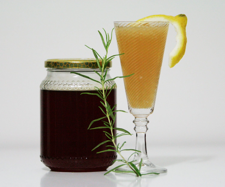 Rosemary, Cinnamon, Honey Lemonade