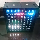 Dutch 8x8 Neopixel Word Clock