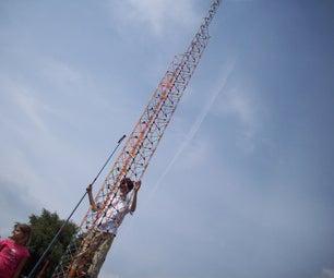 K'nex Triangle Tower