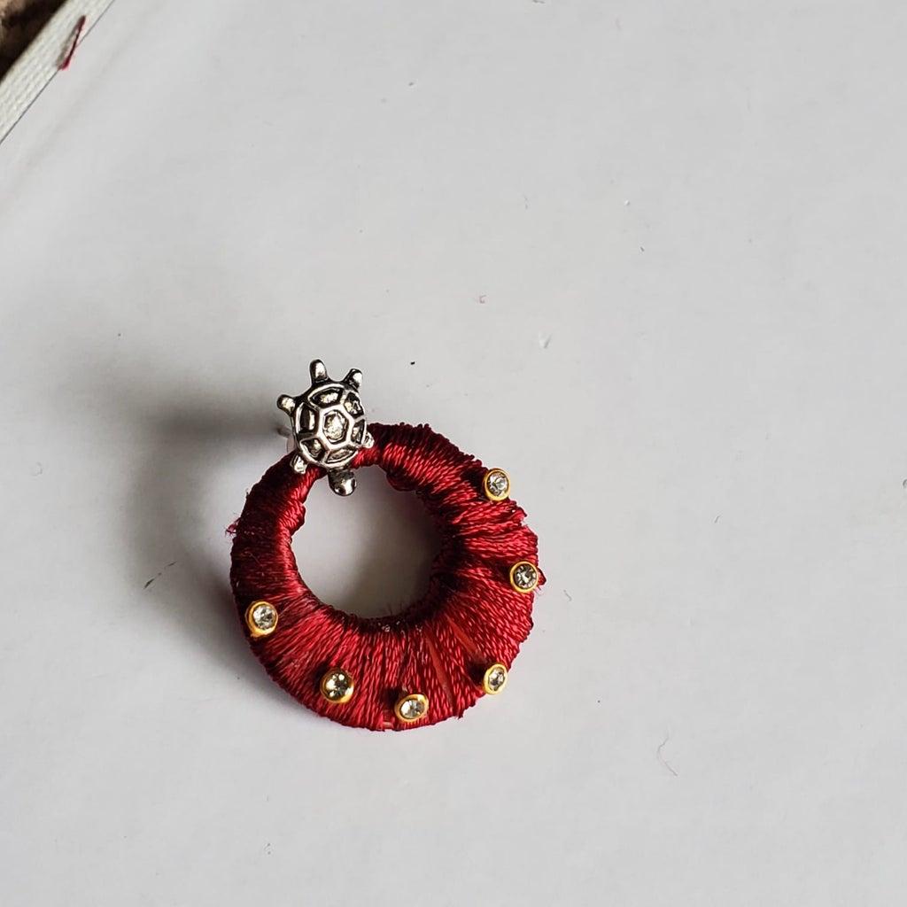 (Earrings) Add the Beads/Rhinestones