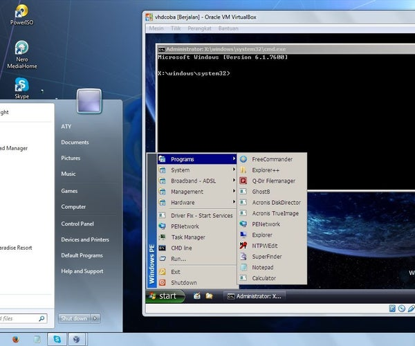 How to Boot Windows 7 in a USB Drive (Windows PE LiveCD or LiveUSB)