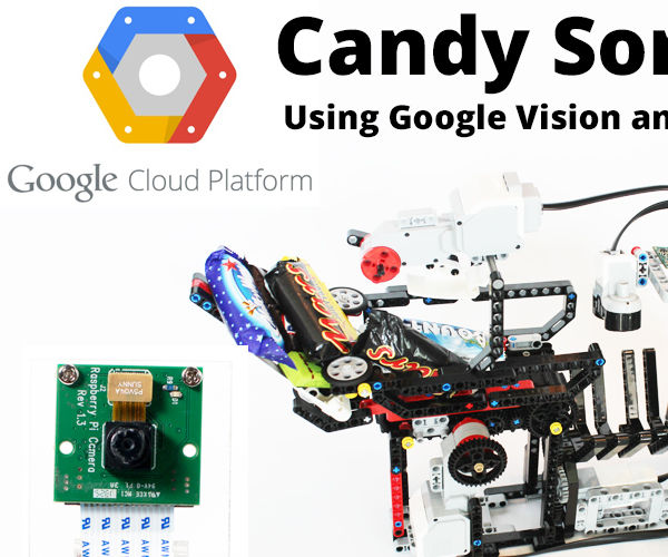 BrickPi Candy Sorter – Sort Halloween Candy with Google Cloud Vision and the Raspberry Pi