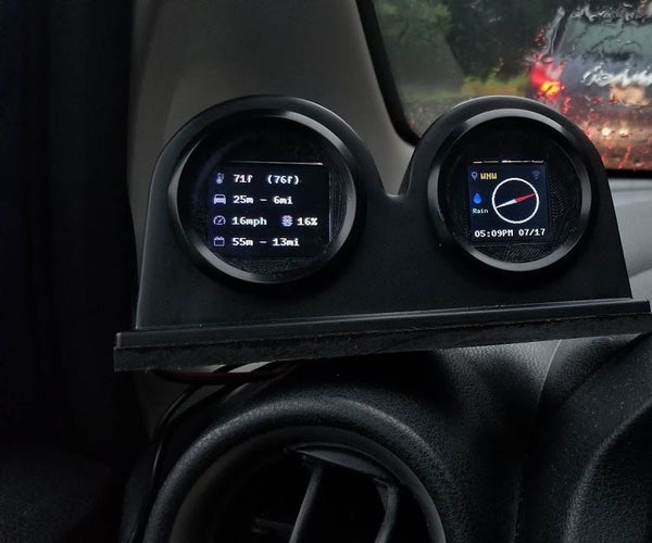 TripComputer - GPS Trip Computer & Weather Module for Your Vehicle