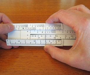 Make a Simple Paper Slide Rule