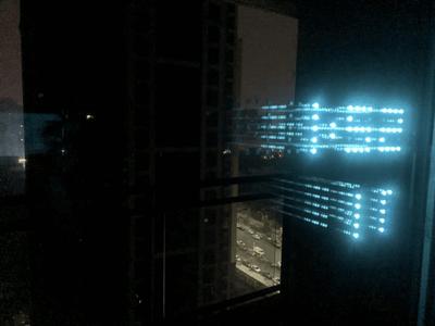 LED Holiday Window Decoration