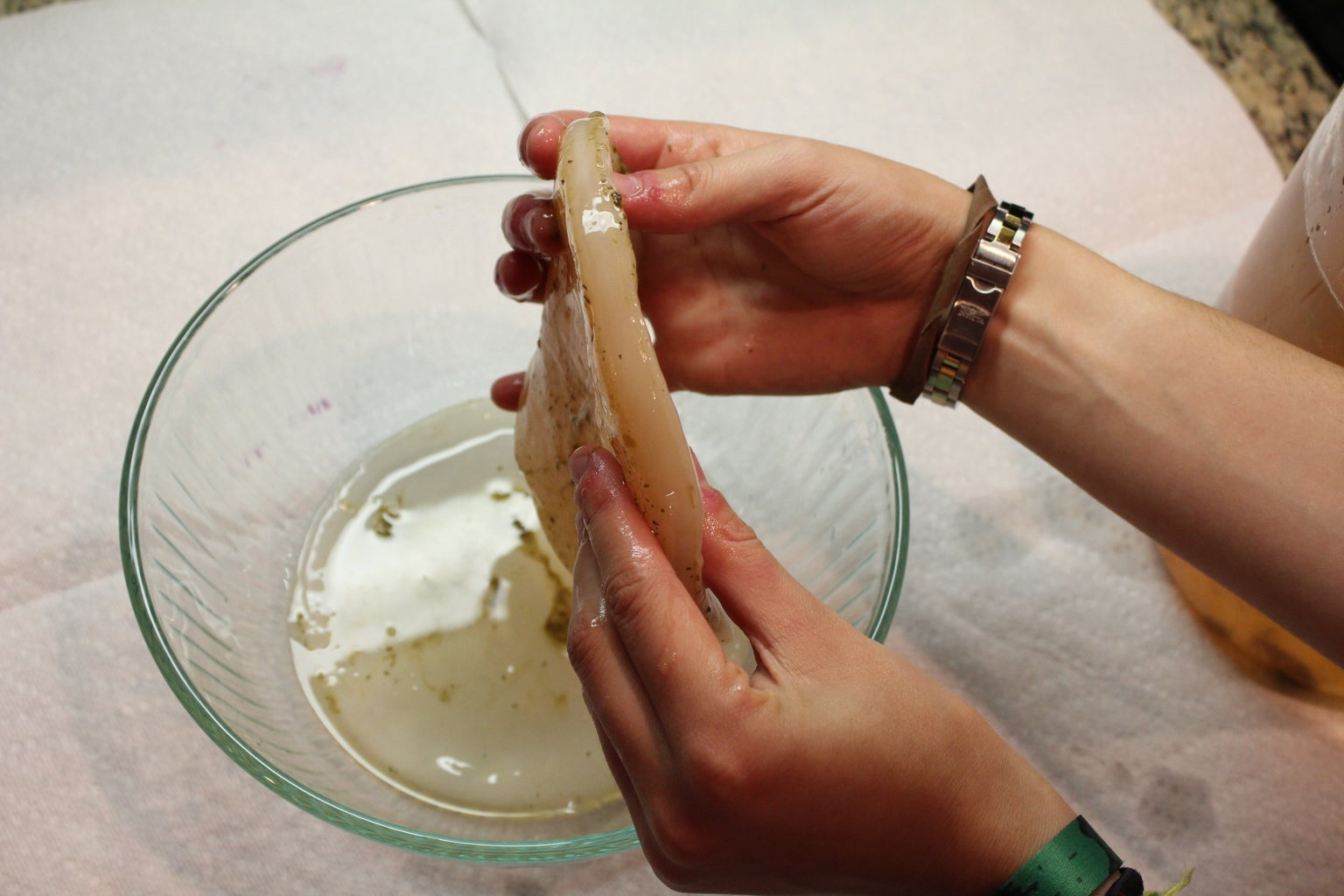Removing Your Scobys
