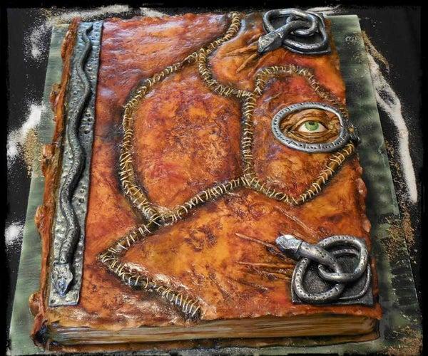 Hocus Pocus Spellbook Cake / Halloween Cake