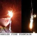 Pyromaniac Sparkler Fire Fountain
