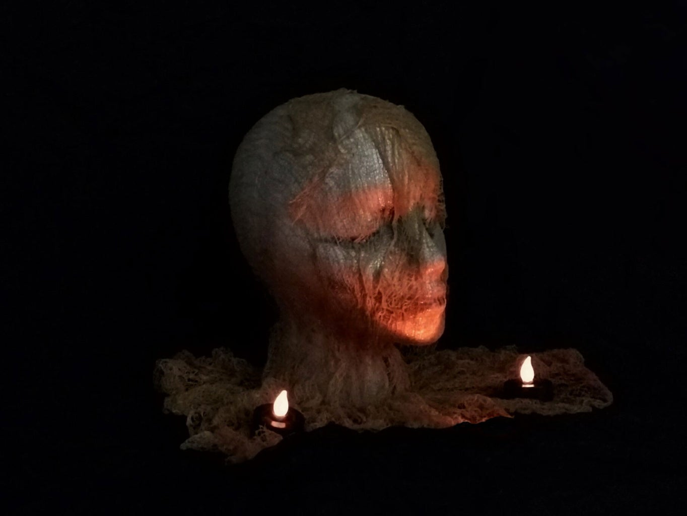 Quick and Easy Severed Head.