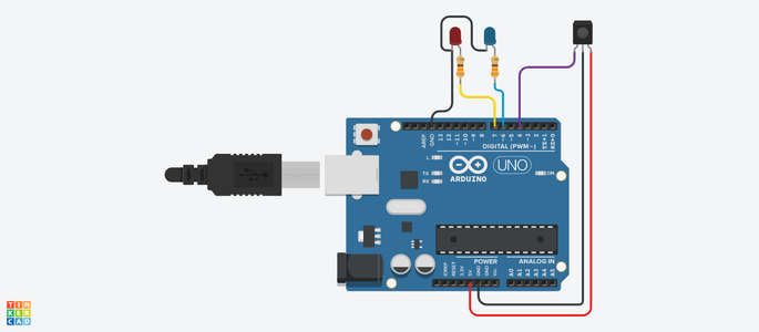 Tv Remote With Arduino Circuit