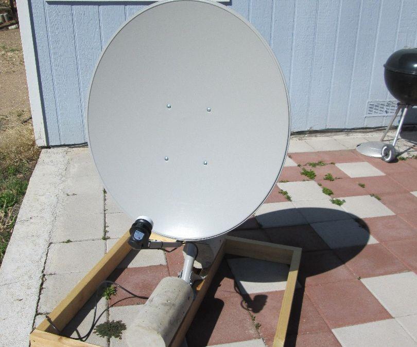 Free To Air (FTA) Satellite Dish setup