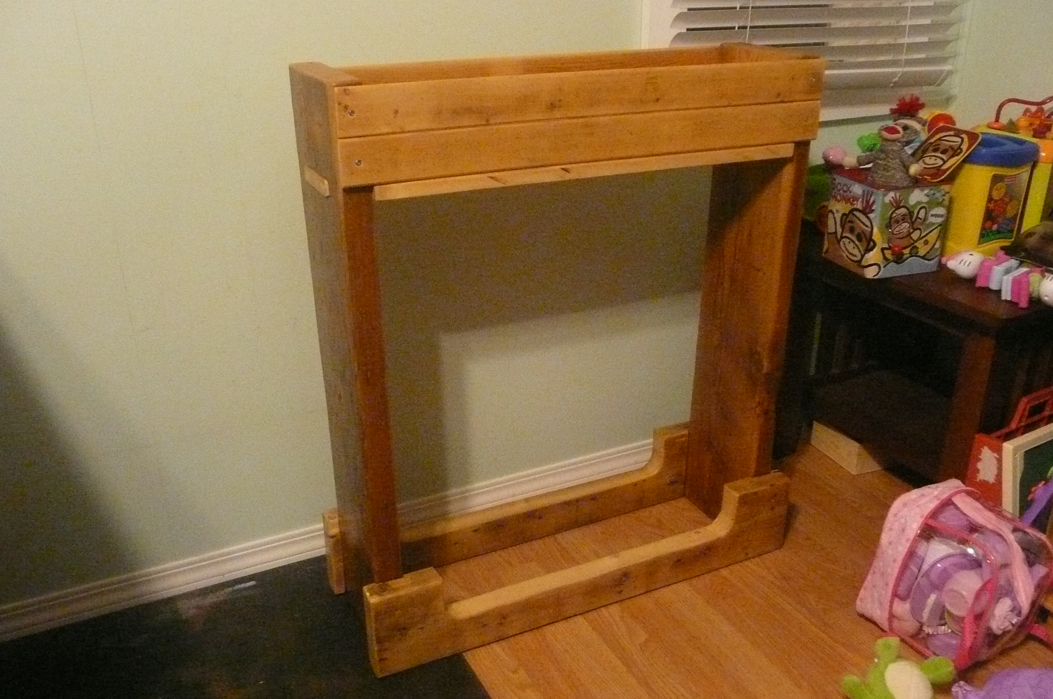 Picture of: Indoor Firewood Rack Instructables