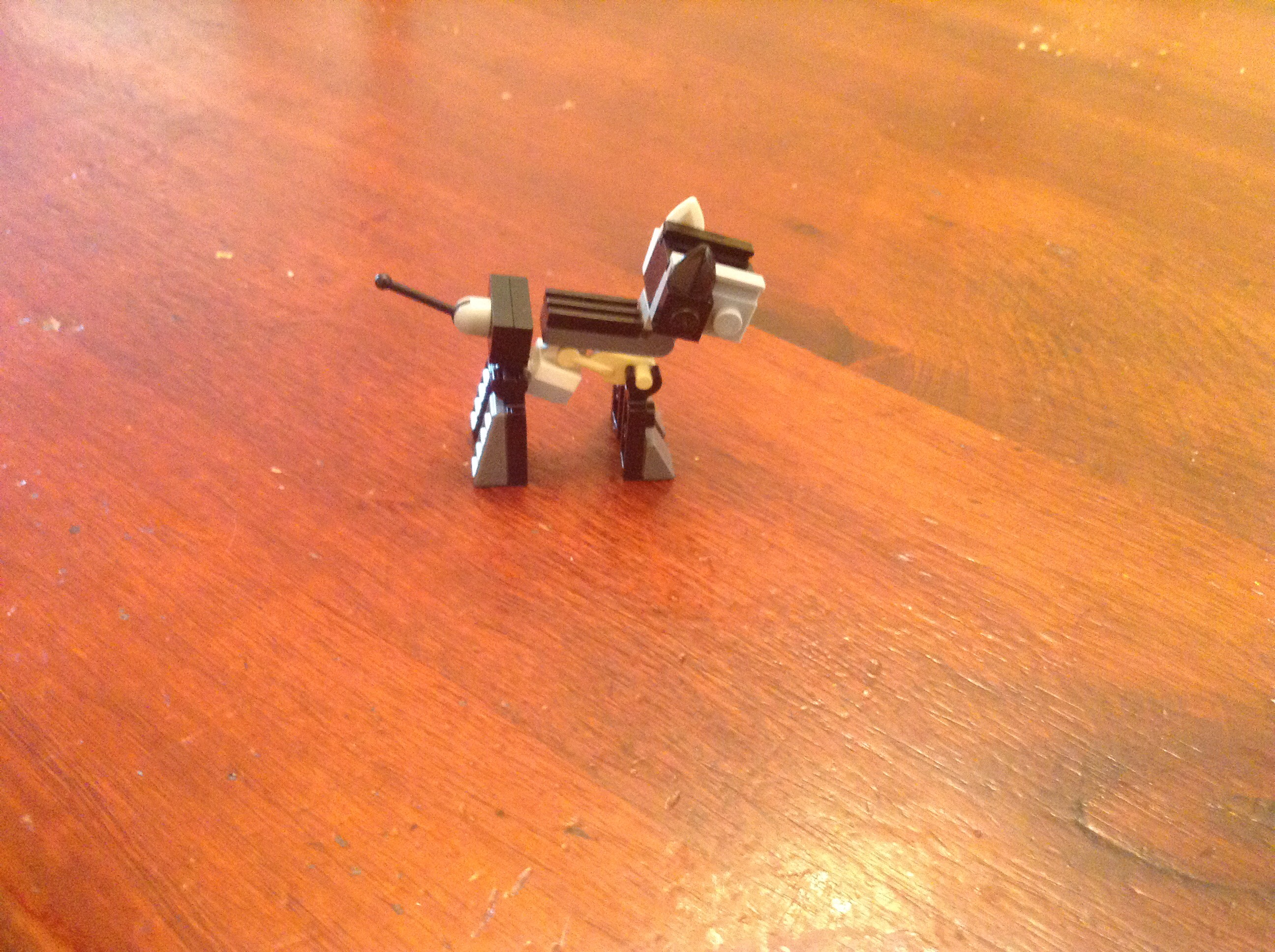 How To Make A LEGO Enhanced,more Detailed Dog