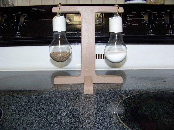 Lightbulb Salt and Pepper Shakers