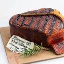 Realistic Porterhouse Steak Cake