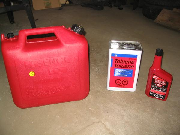 Make Your Own Racing Gas