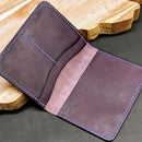 Make a Leather Passport Wallet