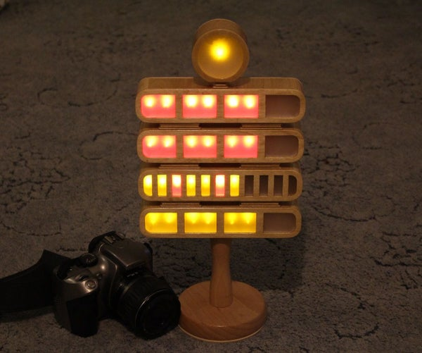 Berlin Clock, Arduino Nano, DS1307 Real Time Clock. 74HC595N 8 Bit Shift Register.