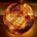 Beaming Book Bauble Lamp Shade