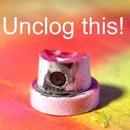 Unclogging Rust-Oleum Nozzle