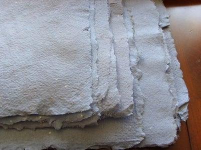 How to Make Handmade Paper