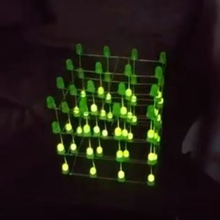 LED Cube Code Generator 4x4x4 Arduino