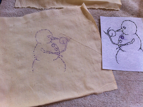 DIY Embroidery Pattern Transfers
