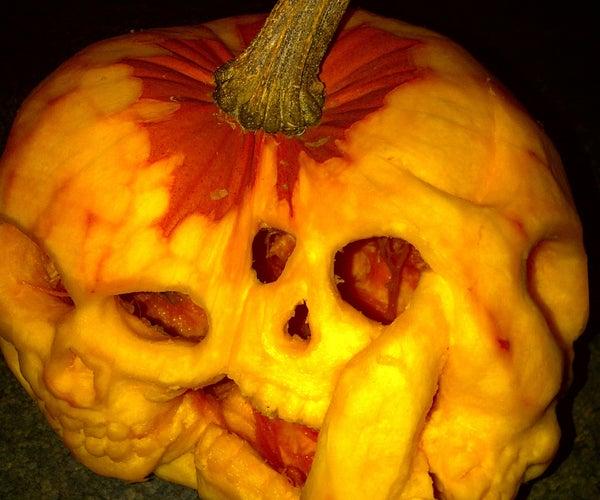 Multi-Skull Pumpkin