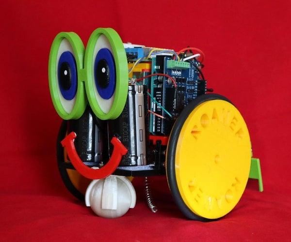 Roamer, the Self Charging Companion Robot
