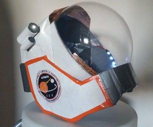Scratch Built Mark Watney the Martian Space Helmet (an Attempt to Make a Replica)