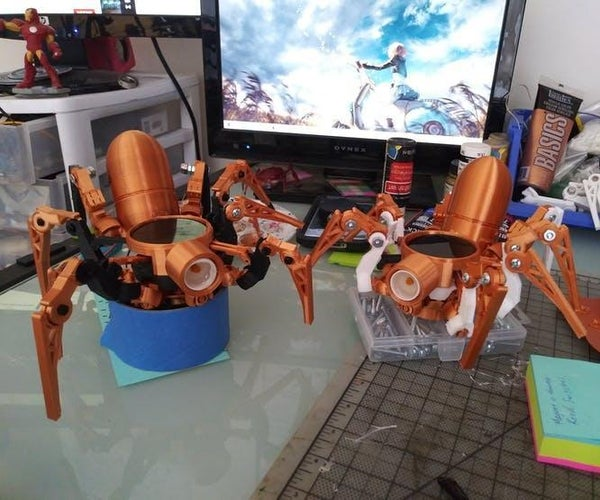 Parado-Asi (Pardox. Asi) Wearable Steampunk Style Spider