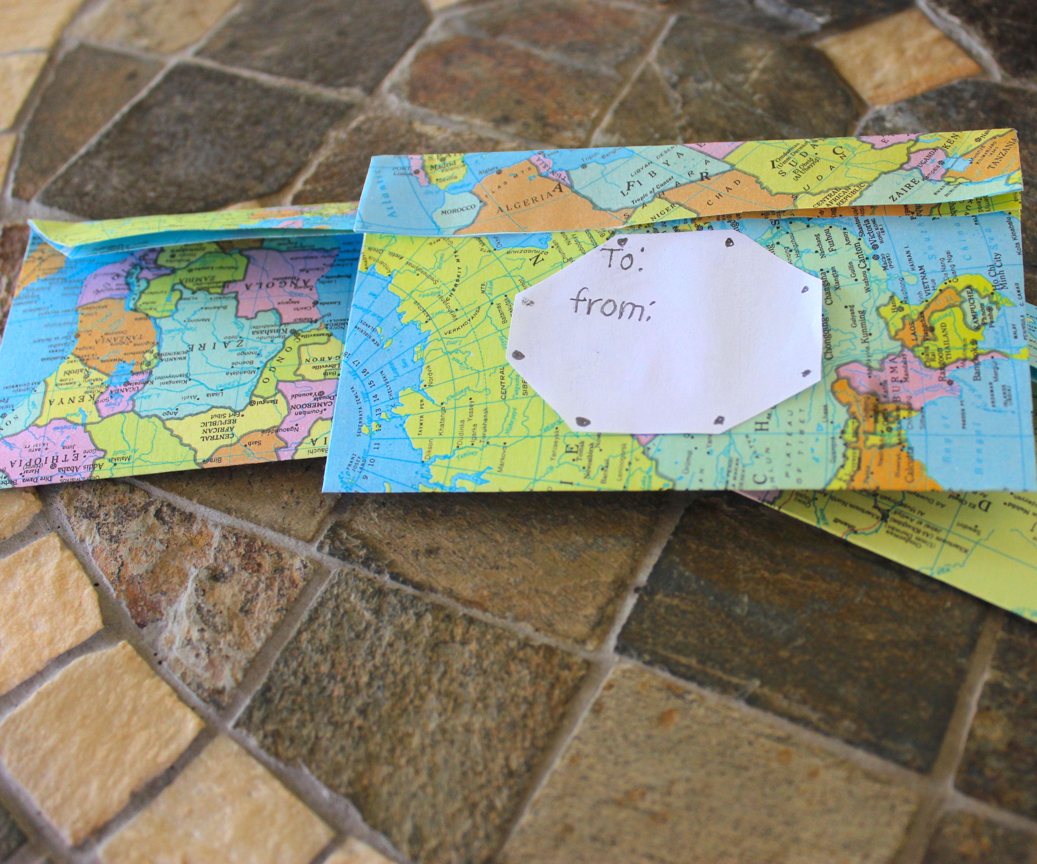 Map Envelops