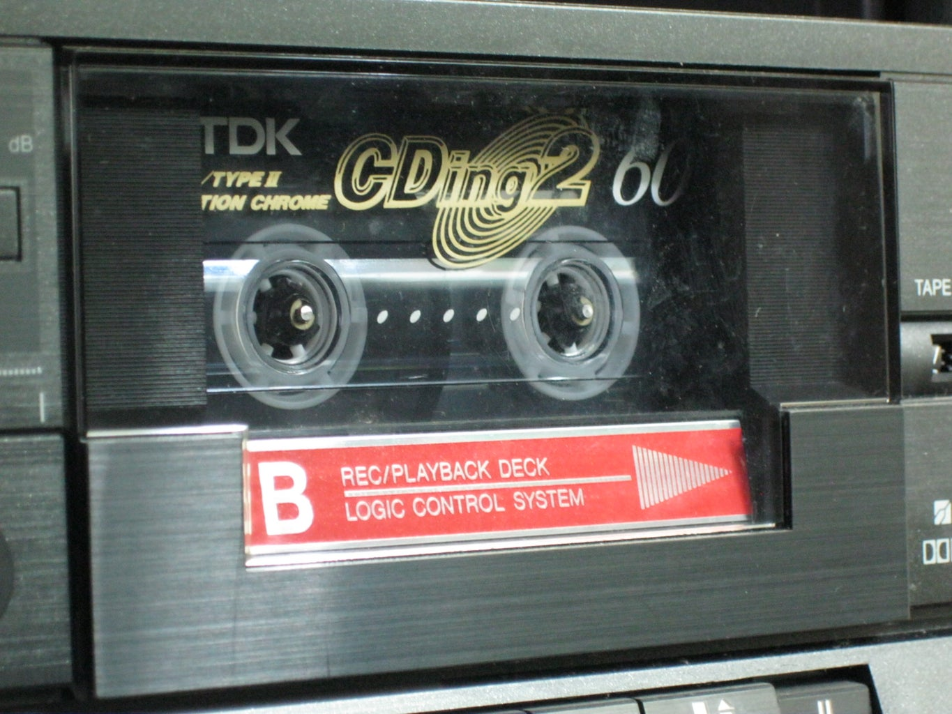 Method 2: Dubbing With a Cassette Deck With Digital Files As the Source